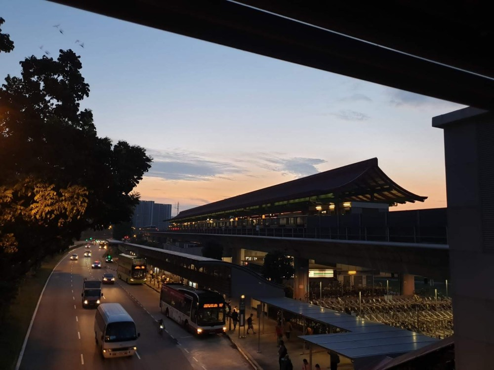 Lakeside MRT station, Lakeside, Singapore