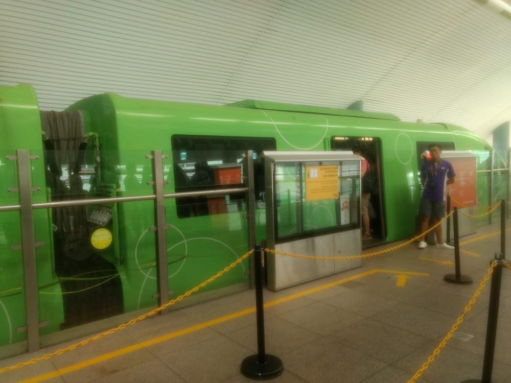 Monorail to Sentosa Island, Singapore