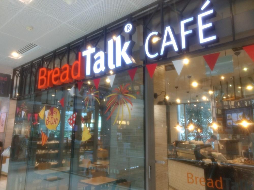 Bread Talk Cafe, Singapore