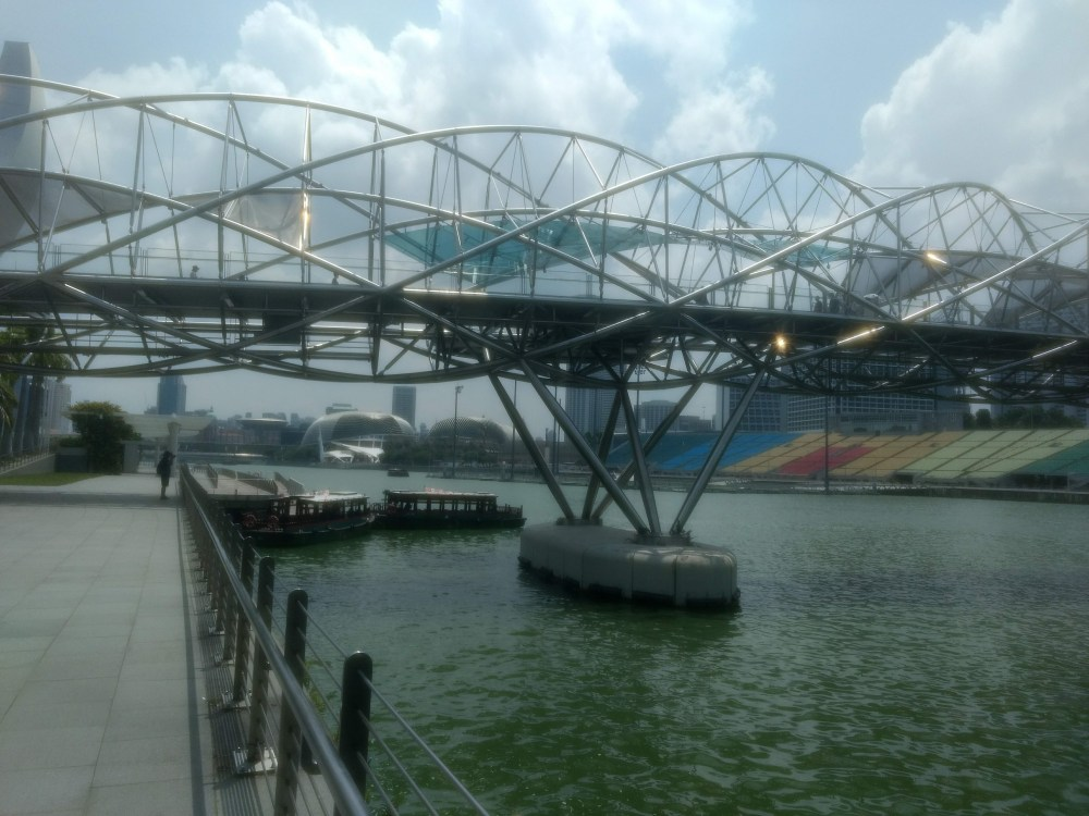 Helix Bridge, Marina Bay Sands, Singapore