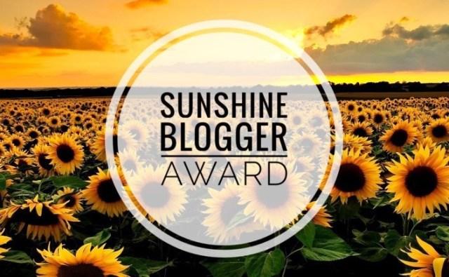 Sunshine Blogger Award 2
