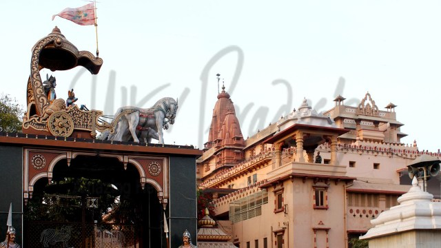 Shri Krishna Janma-Bhoomi temple, Mathura, India