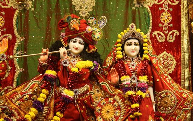 Janmashtami festival India. Radha Krishna photo by larazonsanluis