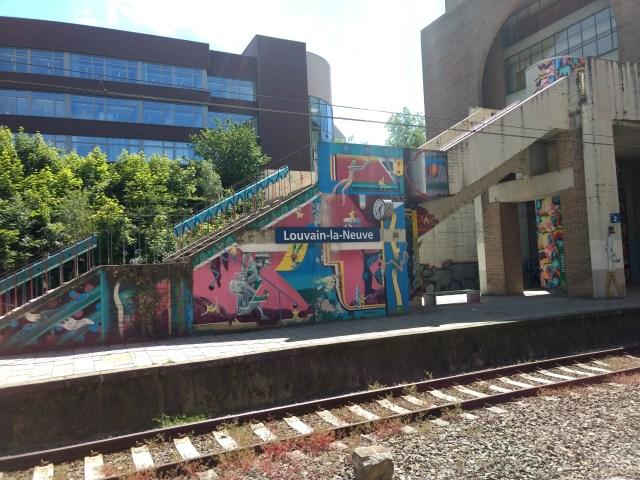Louvain-La-Neuve Station , Belgium