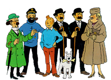 Tintin Main Cast Pic Source: Source (WP:NFCC#4)