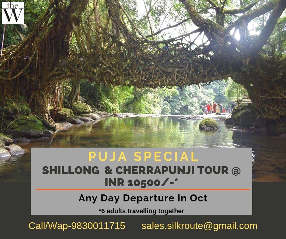 Shillong Dawki Tour Puja 2019