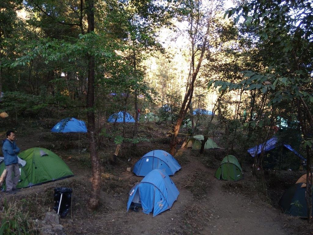 Campsite Accommodation in Hornbill Festival