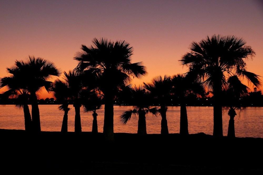 Sunset in San Diego, CA