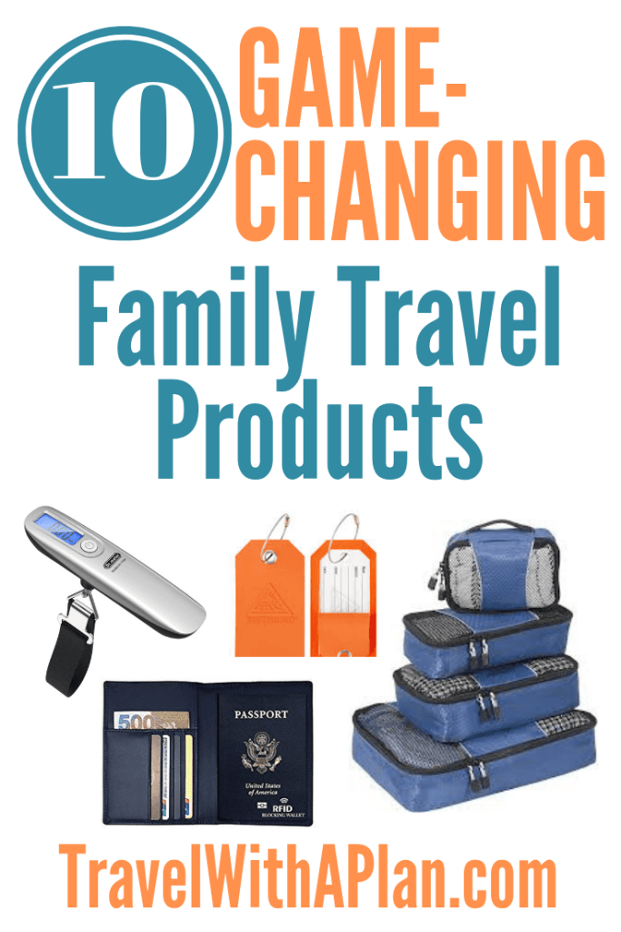 Best travel products featured by top US family travel blog, Travel With a Plan