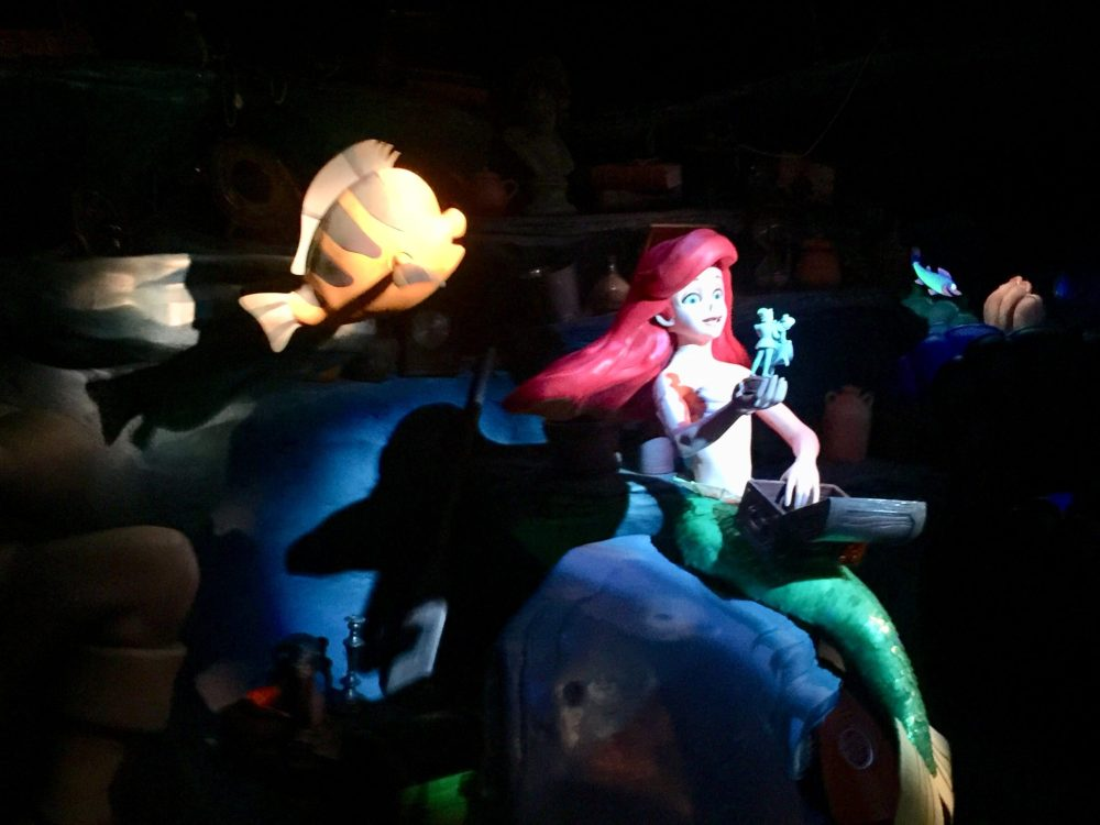 Journey of the Little Mermaid; Magic Kingdom wait times by Top U.S. family travel blog, Travel With A Plan