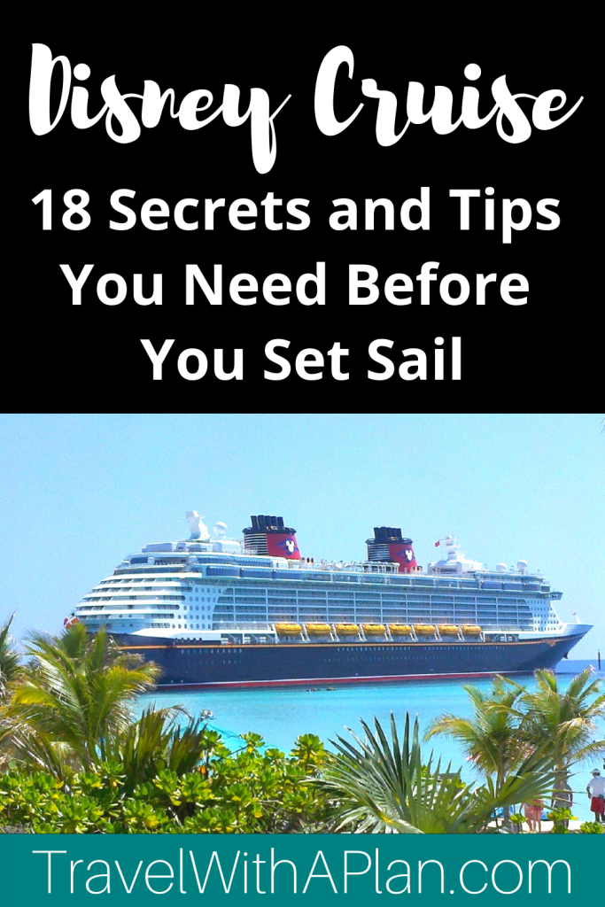Click here for our 18 ultimate Disney Cruise tips that we wish we would have known before our first Disney Cruise!  Help build excitement for your upcoming cruise with our exciting photos and secret tips!  #DisneyCruisetips #DisneyCruiseLinetips #DisneyCruisetipsandtricks #DisneyCruisefirsttime