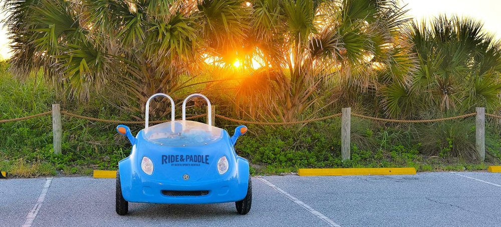 Siesta Key scooter coupe rental