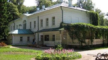Я́сная Поля́на — Check out Yasnaya Polyana in Spring or Fall