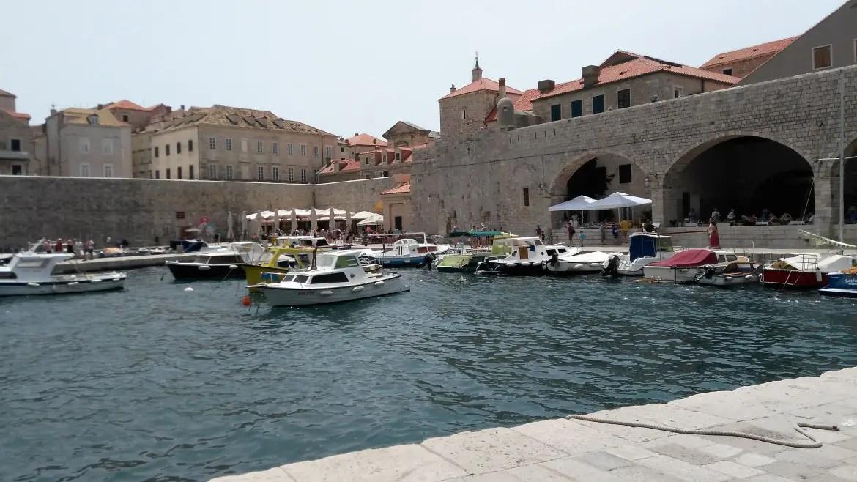 Croatia Itinerary Dubrovnik port