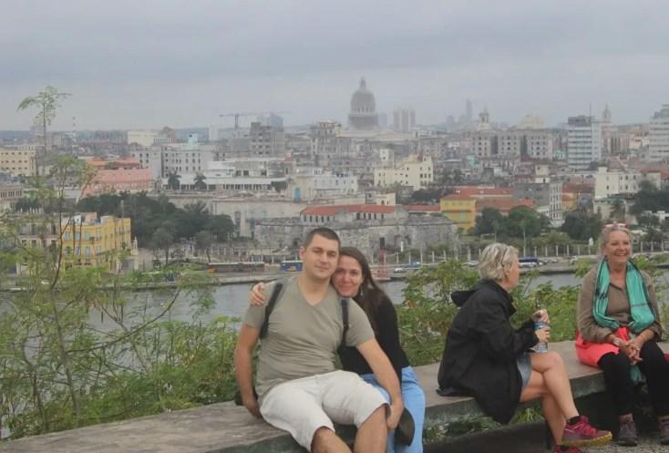 View over Havana from Cristo de Havana