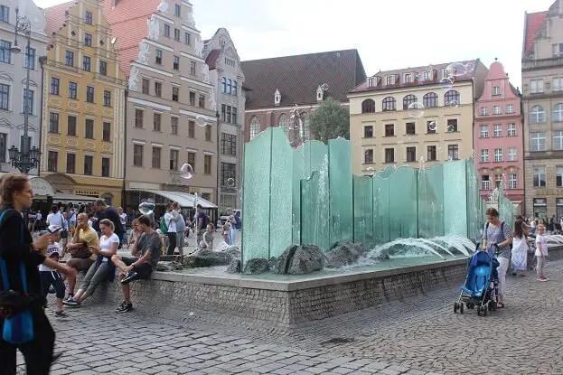 main square in wroclaw