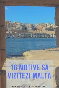 16 motive să vizitezi Malta ghid turistic