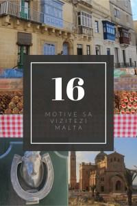 16 motive să vizitezi Malta