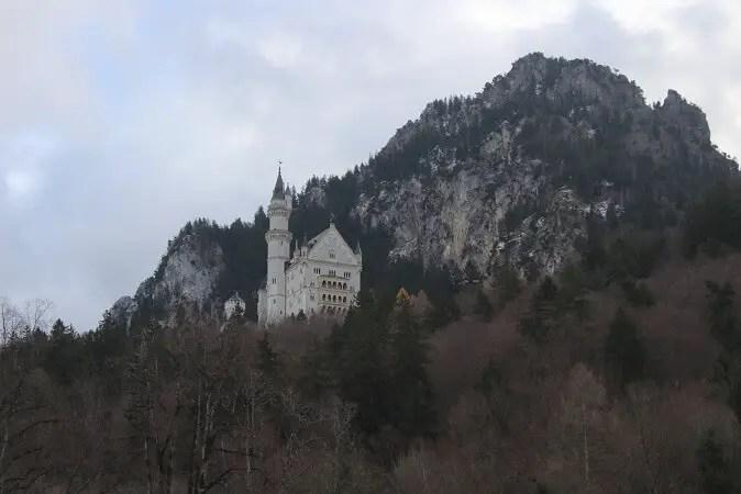 castelul neuschwanstein de la hohenschwangau
