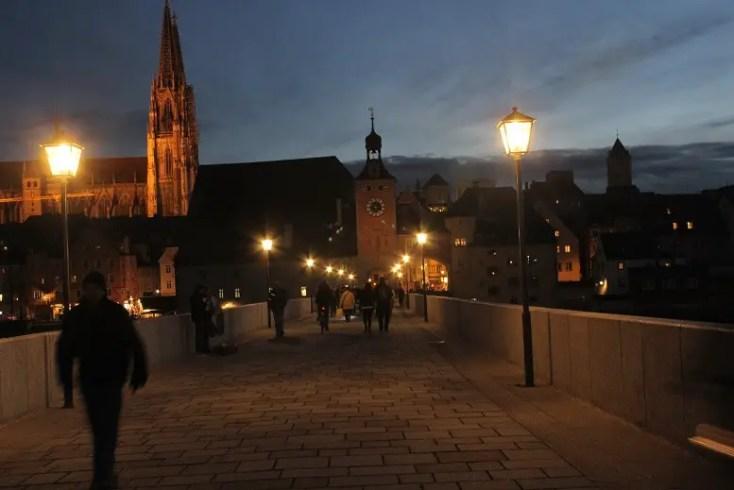 regensburg old town bavaria Germany day trip München