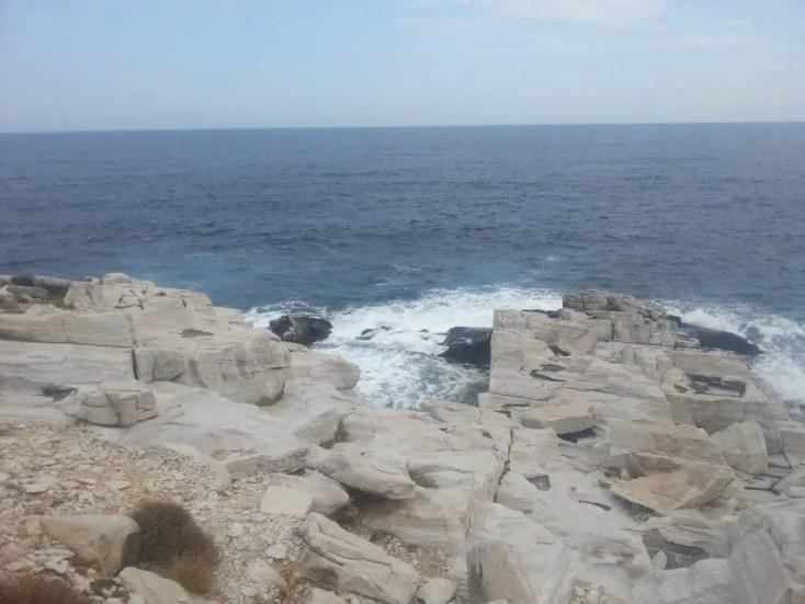 Fosta carieră de marmură din Aliki, Thassos