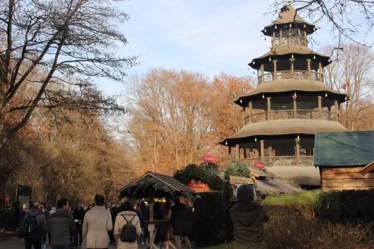 Chinese Tower English Garden