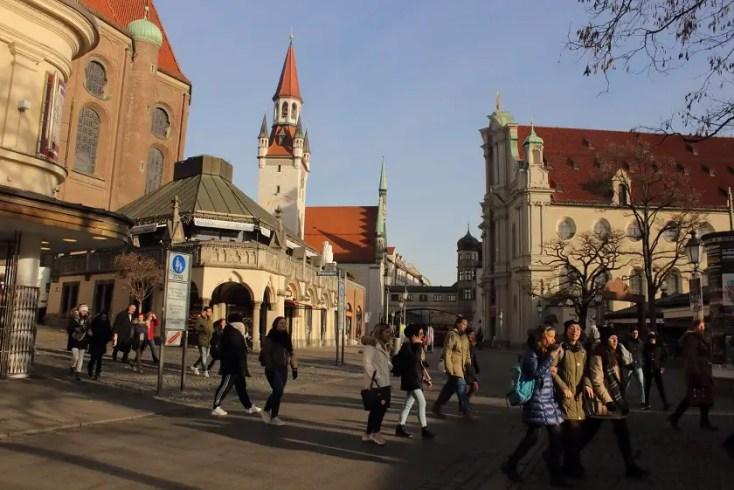 Center of München