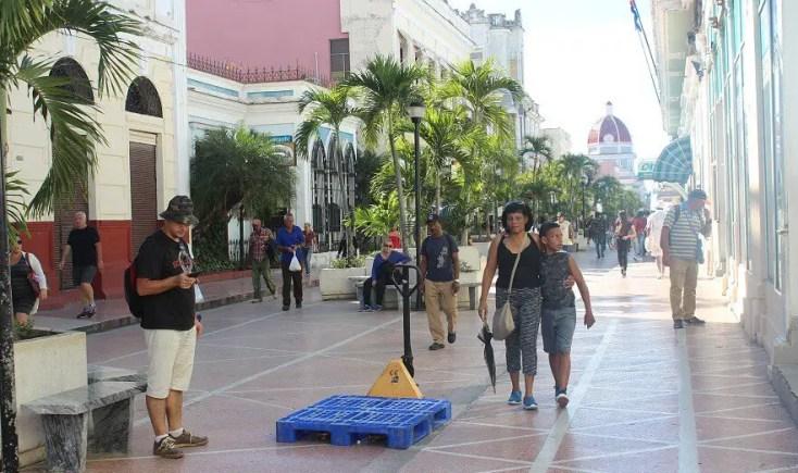 Main pedestrian street, Cienfuegos