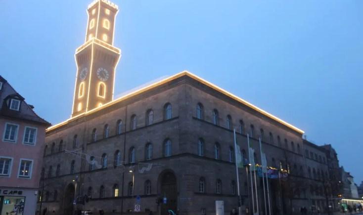 Town hall of Furth Franconia