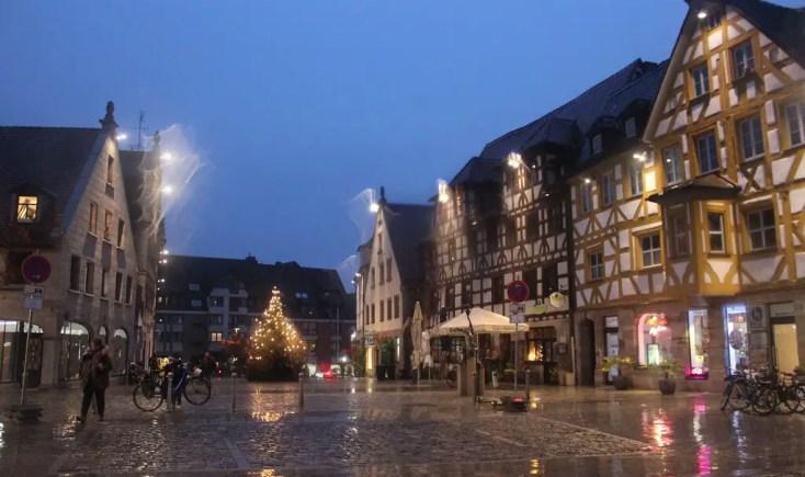 Furth main square Franconia