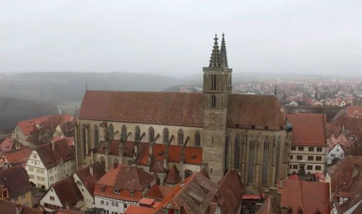 St. Jacob's church in Rothenburg ob der Tauber