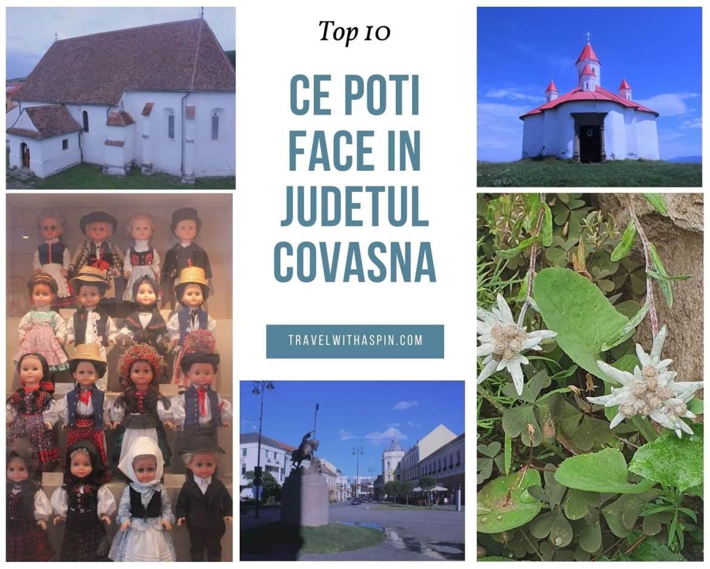 Top 10 cele mai frumoase locuri din judetul Covasna