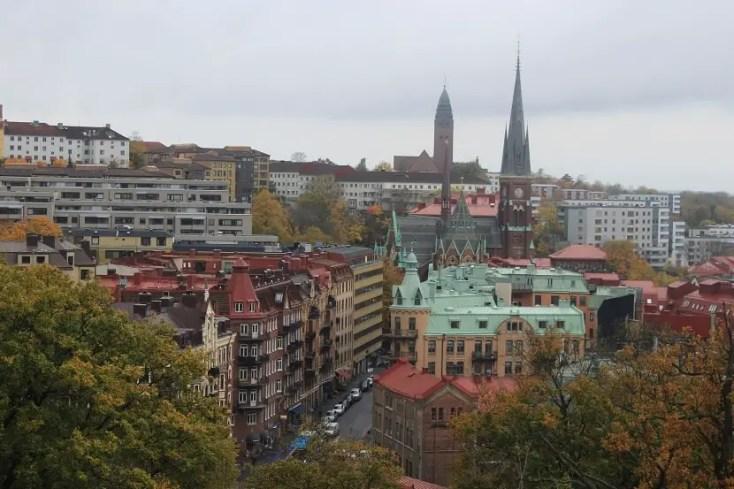 Gothenburg vazut de sus