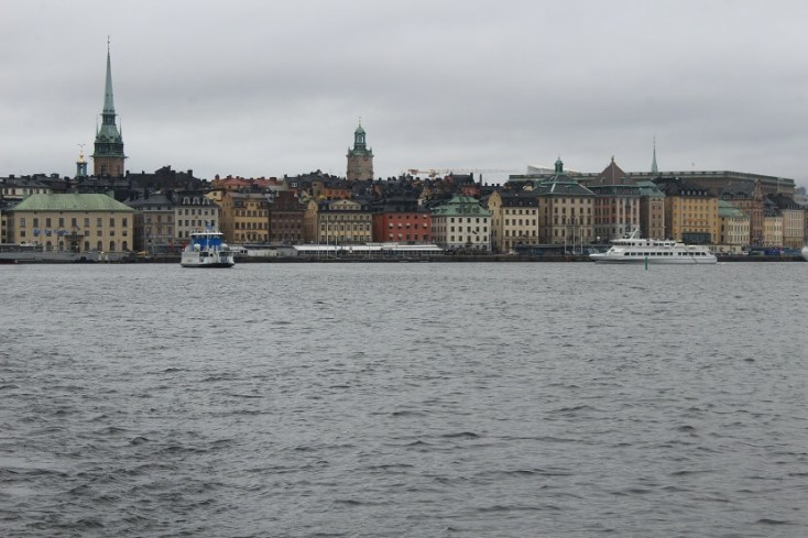 Ferry leaving Gamla Stan, circuit Suedia