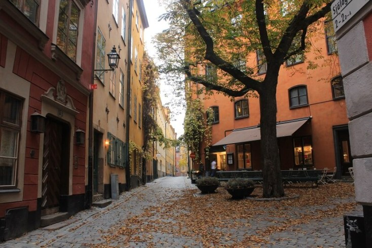 Gamla Stan peisaj Stockholm