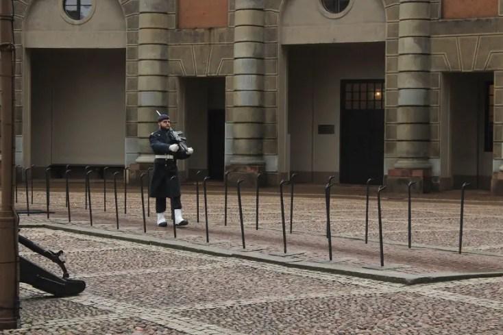 Garda Palatul Regal Stockholm