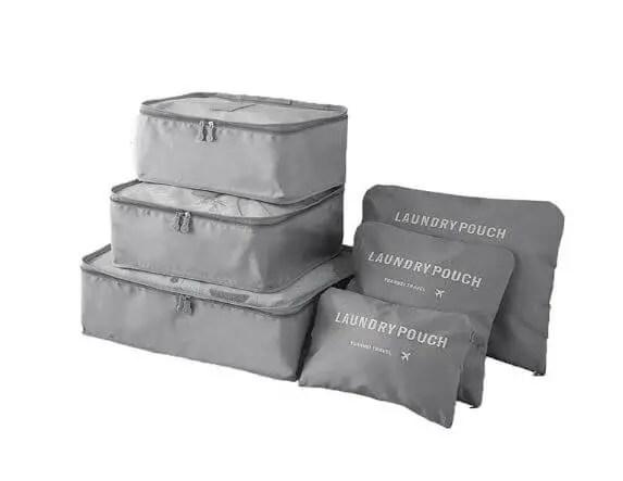 Cadouri calatori Set de cuburi pentru organizarea bagajelor