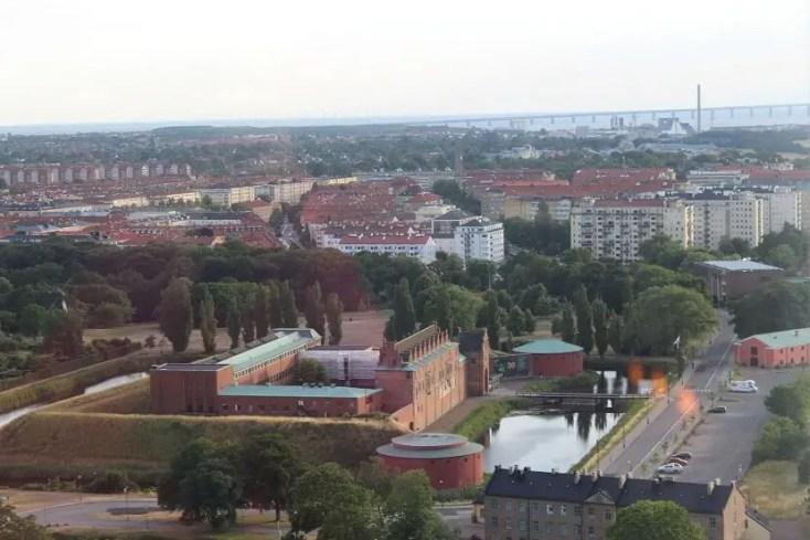 Castel Malmohus si Podul Oresund