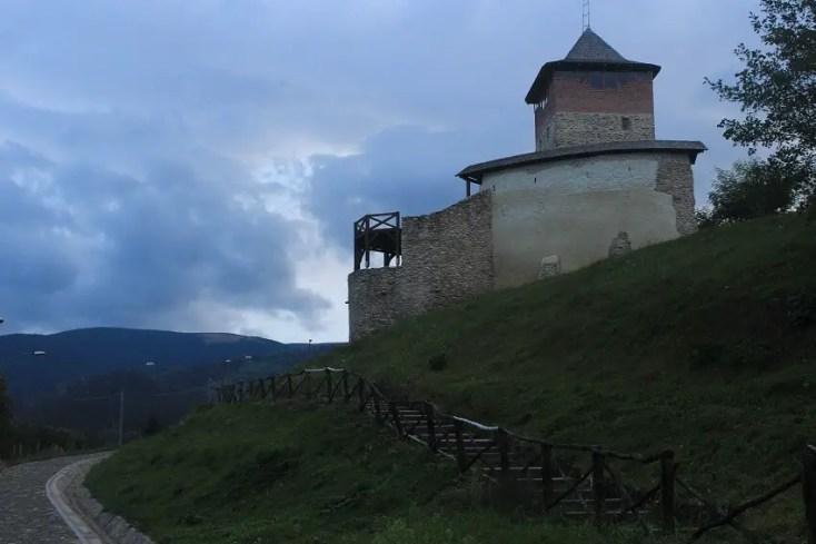 Cetatea Malaiesti obiective turistice Hunedoara