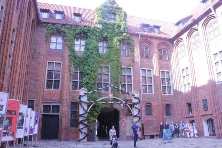 Old town hall yard