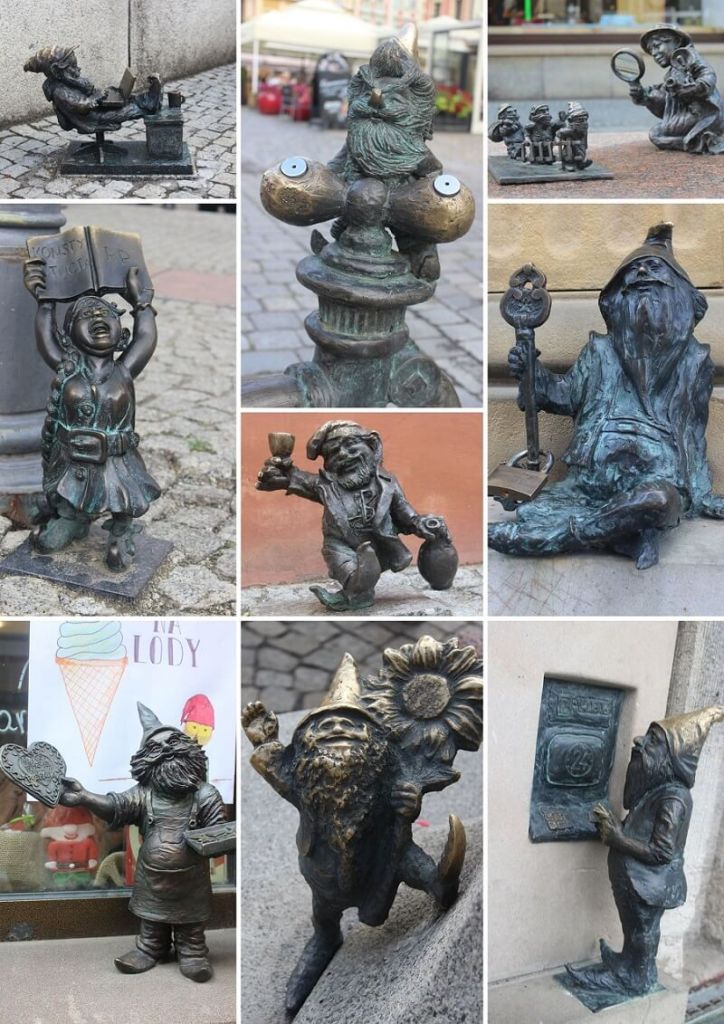 Dwarf hunting - one of the best things to do when you visit Wroclaw