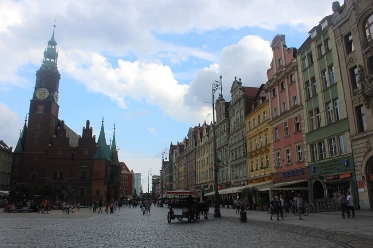 St. Elisabeth's Church - one of the best things to do when you visit Wroclaw