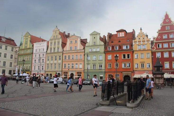 Salt Square, Wroclaw, Poland