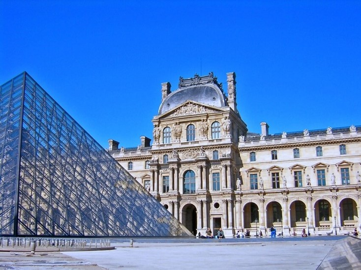 The Louvre Museum - best attractions in Paris