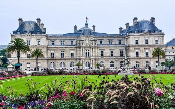 Palace Luxembourg Gardens - Sharon Odegaard