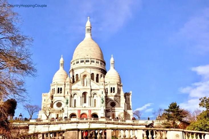 Sacre Coeur - best attractions in Paris