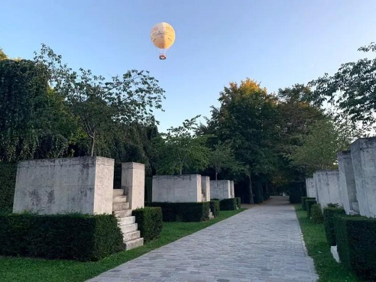 Parc Andre Citroen Hot Balloon Ride