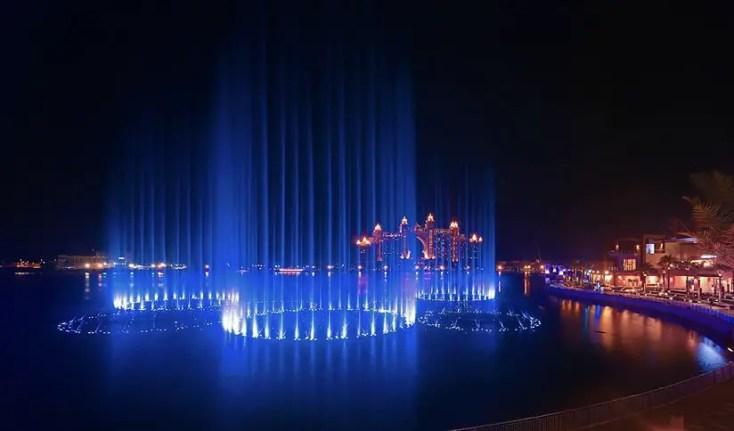 The Palm Fountain