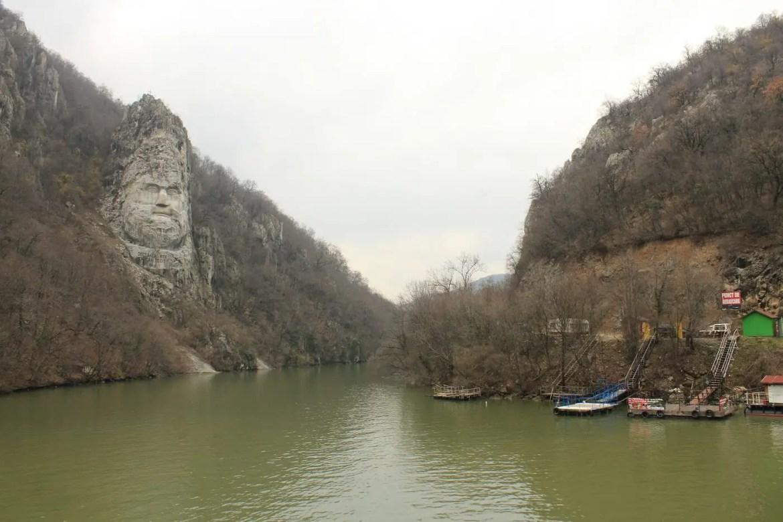 Cazanele Dunării - Chipul lui Decebal