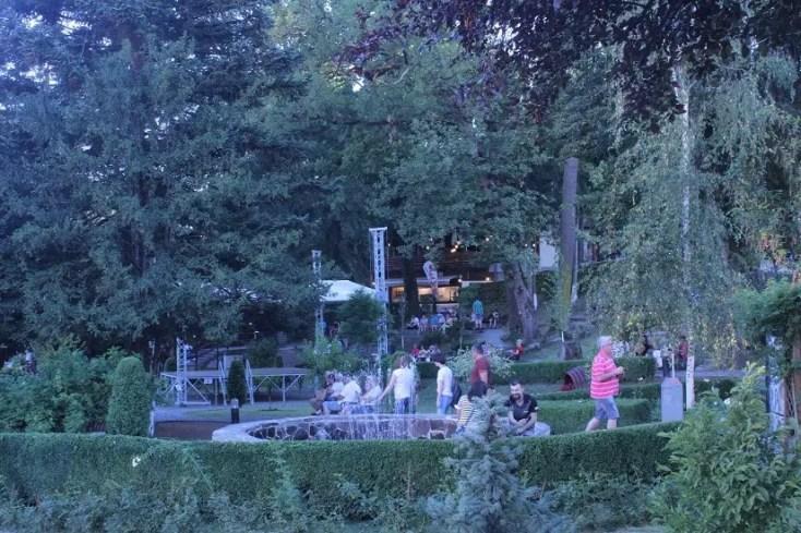 Parcul Central din statiunea Sovata
